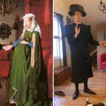 Άνθρωποι από όλο τον κόσμο αναπαριστούν σπουδαία έργα τέχνης με αντικείμενα του σπιτιού τους (Φωτογραφίες)