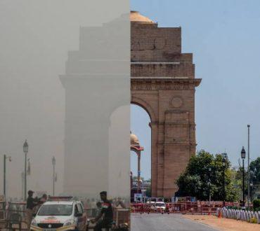 Νέο Δελχί: Η πιο μολυσμένη πρωτεύουσα του κόσμου «ανέπνευσε» λόγω καραντίνας