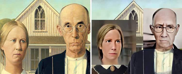 Καλλιτέχνης αποκαλύπτει πώς θα ήταν σήμερα τα πρόσωπα διάσημων έργων τέχνης(Φωτογραφίες)