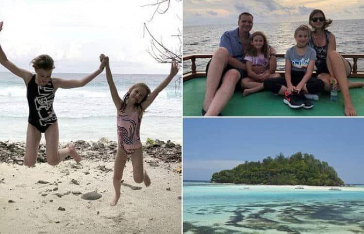 Οικογένεια πούλησε το σπίτι της στο Λονδίνο και μετακόμισε σε νησί της Αφρικής για να σώσει τους κοραλλιογενείς υφάλους