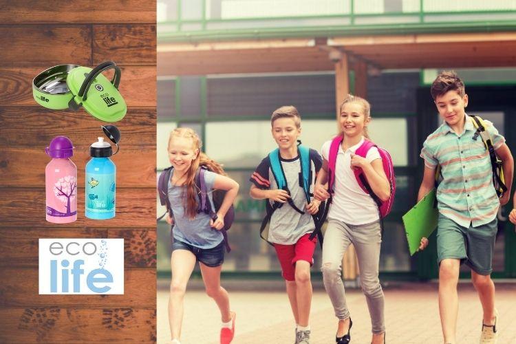 Επιστροφή στο σχολείο με τα πιο υγιεινά παγουράκια και φαγητοδοχεία eco life!