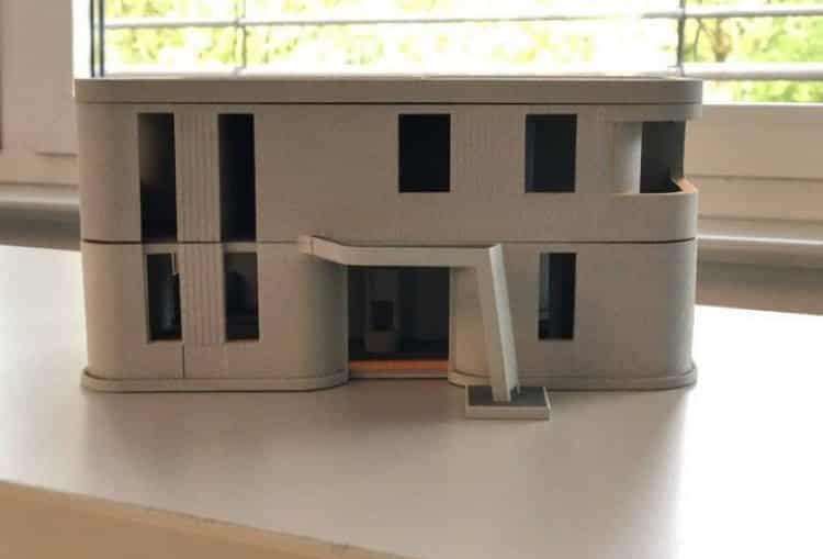 Το πρώτο 3D διώροφο κατοικήσιμο σπίτι της Ευρώπης κατασκευάστηκε από Έλληνα