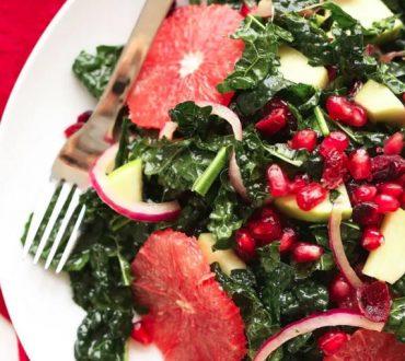 Σαλάτες με φθινοπωρινά λαχανικά και φρούτα που μας χορταίνουν