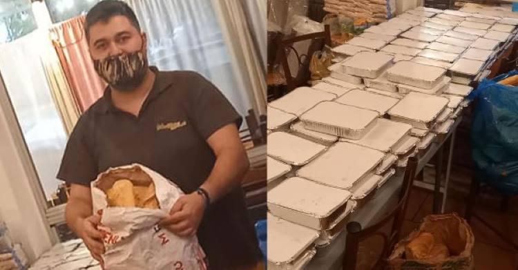 Ιδιοκτήτης ταβέρνας στο Κερατσίνι προσφέρει δωρεάν γεύματα σε όσους έχουν ανάγκη και δίνει μάθημα ανθρωπιάς