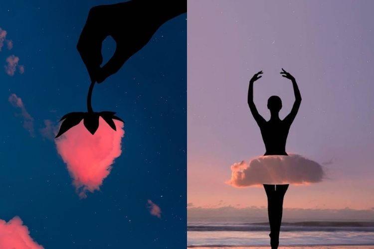 Καλλιτέχνης χρησιμοποιεί τη φαντασία του για να μετατρέψει πολύχρωμα σύννεφα σε αντικείμενα (Φωτογραφίες)