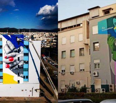 Ο καλλιτέχνης LifeinColour «ντύνει» με αισιόδοξα χρώματα και εικόνες τα νοσοκομεία της χώρας