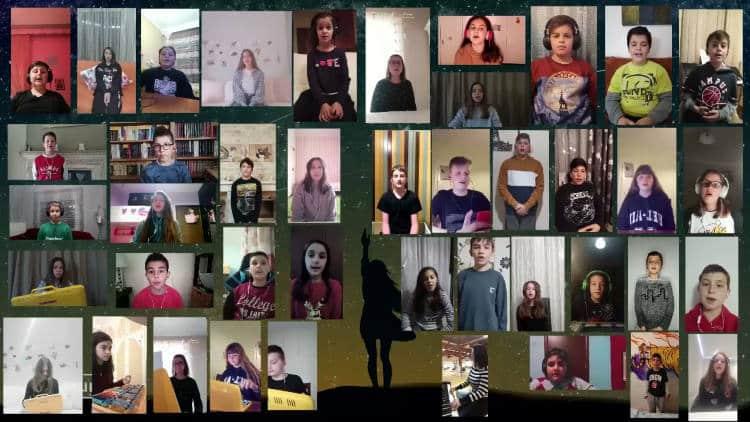 «Το πιο μεγάλο ευχαριστώ» - Μαθητές από την Ξάνθη στέλνουν μελωδικό μήνυμα αγάπης στους δασκάλους(Βίντεο)