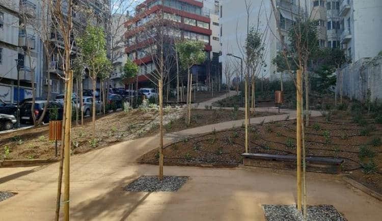 Παγκράτι: Εγκαταλελειμμένος χώρος μετατράπηκε στο τρίτο «πάρκο τσέπης» της Αθήνας
