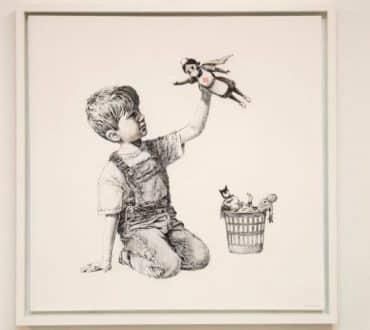 Πίνακας του Bansky πωλήθηκε για 16.7 εκατ. λίρες με στόχο την ενίσχυση των νοσοκομείων
