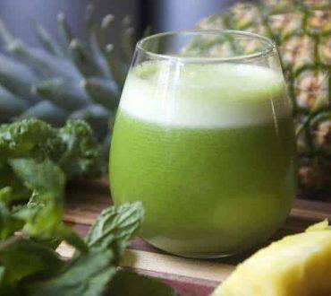 Ο πράσινος χυμός που βοηθά στη διατήρηση της υγείας του θυρεοειδούς