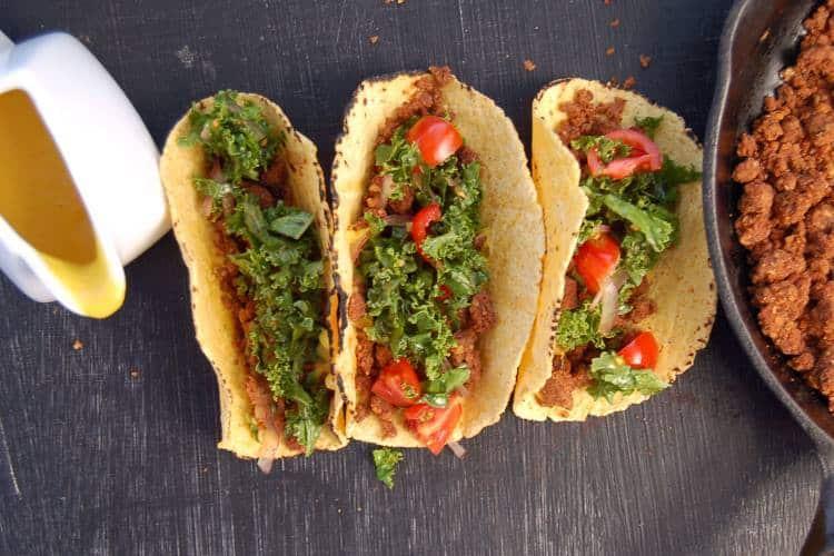 Συνταγή: Χορτοφαγικά τάκος με φακές και καρύδια