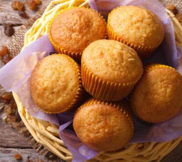 Συνταγή: Muffins με βρώμη και μήλο