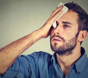 6 τρόποι να σταματήσουμε την έντονη εφίδρωση