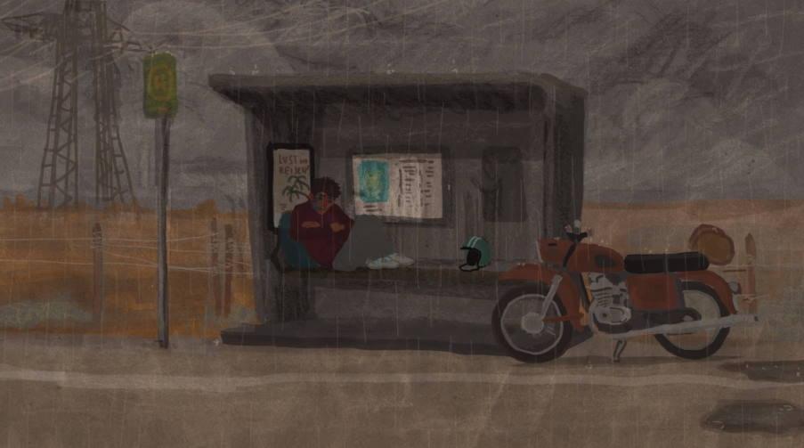 Roadtrip: Ένα υπέροχο animation ζωγραφισμένο αποκλειστικά στο χέρι (βίντεο)