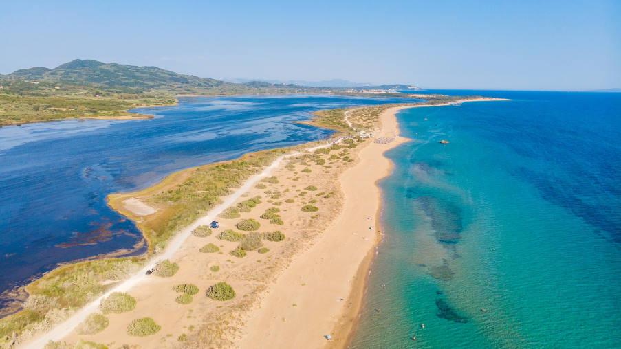 Παραλία της Κέρκυρας μπήκε σε Ευρωπαϊκή λίστα με τις κορυφαίες covid-free παραλίες για φέτος