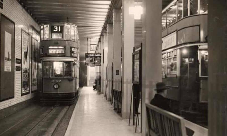 Κρυμμένος σταθμός τραμ του Λονδίνου ανοίγει για το κοινό για πρώτη φορά μετά από 70 χρόνια