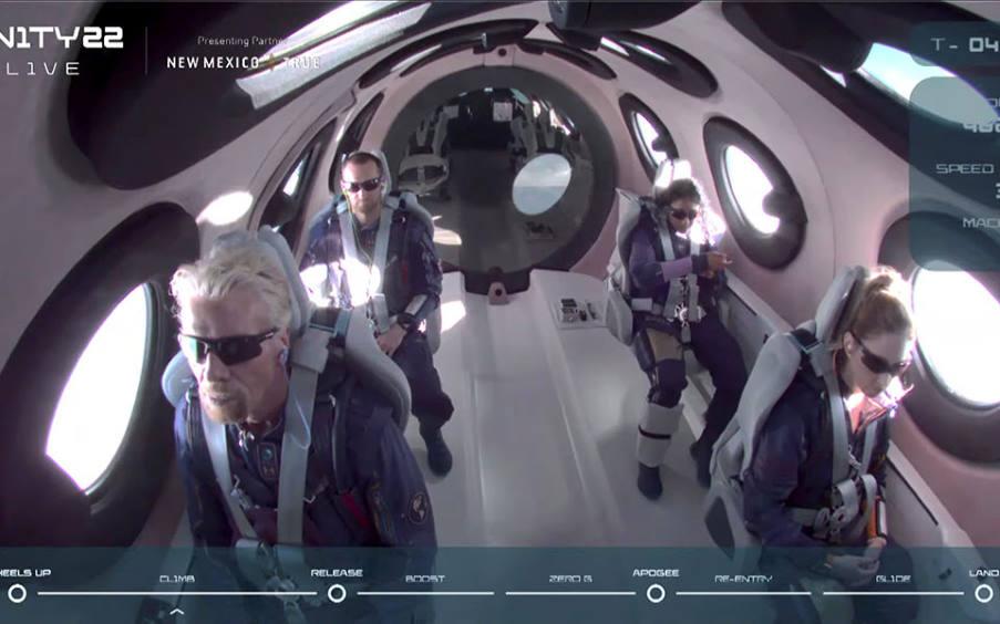 Η Virgin Galactic σχεδιάζει καθημερινές πτήσεις αναψυχής στο Διάστημα για τουρίστες