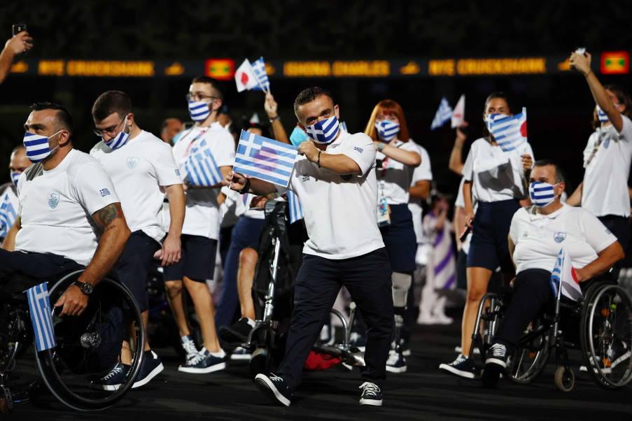 Παραολυμπιακοί αγώνες: Με τρία μετάλλια ξεκίνησε η ελληνική αποστολή στο Τόκυο