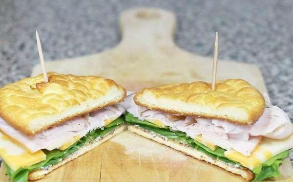 Cloud-Bread ψωμί χωρίς γλουτένη