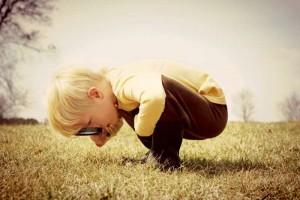 παιδί εξερευνητής