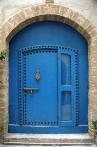 Μπλε πόρτα
