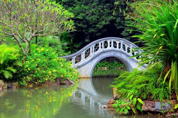 γέφυρα τοπίο